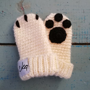 Newborn Paw Bootie And Mitten Set-Baby Booties-EKA