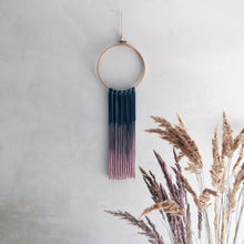 Load image into Gallery viewer, Dream Catcher - Petrol Blue Pink Ombre-Wall Hangings-EKA