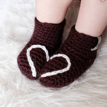 Load image into Gallery viewer, Heart Booties - baby and child