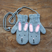 Load image into Gallery viewer, Animal Mittens - child-Mittens-EKA