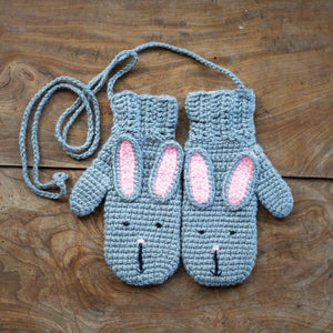 Animal Mittens - child-Mittens-EKA