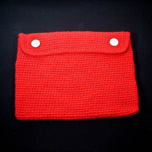 Crocheted Laptop Case - Acrylic-Tech Covers-EKA