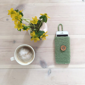 olive green gadget phone case