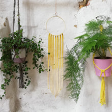 Load image into Gallery viewer, Dreamcatcher Talisman - Yellow Ombre-Wall Hangings-EKA