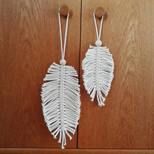 Load image into Gallery viewer, Set Of Macrame Leaves-Wall Hangings-EKA