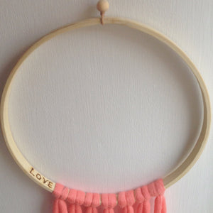 Macrame Feather Dreamcatcher-Wall Hangings-EKA