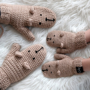 brown bear mittens mummy and me