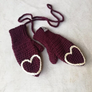 Fingertip Heart Mittens For Baby And Child-Mittens-EKA