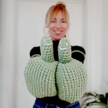 Load image into Gallery viewer, Smiley Face Mittens - Adult-Mittens-EKA