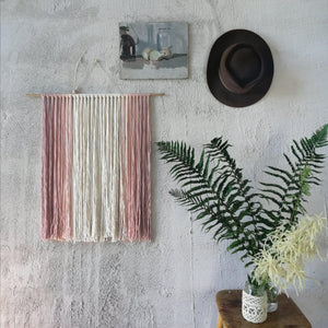 Blush Ombre Wall Hanging