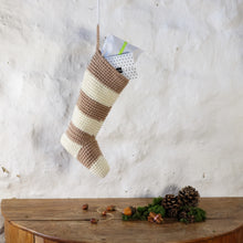 Load image into Gallery viewer, Chunky Striped Christmas Stocking-Hanging Toys-EKA