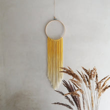 Load image into Gallery viewer, Dreamcatcher Talisman - Yellow Ombre