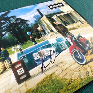 Oasis - Be Here Now - Unplayed Vinyl - Signed