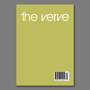 The Verve - Green Barcode Poster A1