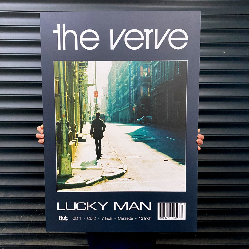 The Verve - Lucky Man Promo Print
