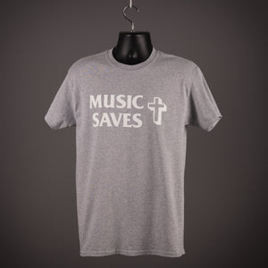 The Verve - Music Saves - Sport Grey - T Shirt