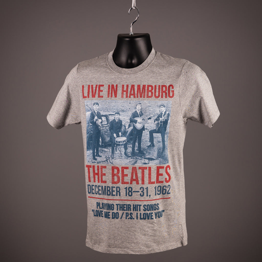 The Beatles - Live In Hamburg 1962 T Shirt