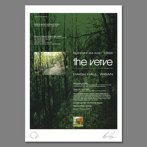 The Verve - Live At Haigh Hall 1998 Print