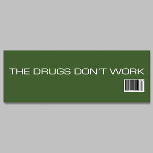 The Verve 'The Drugs Don't Work' Promo Banner