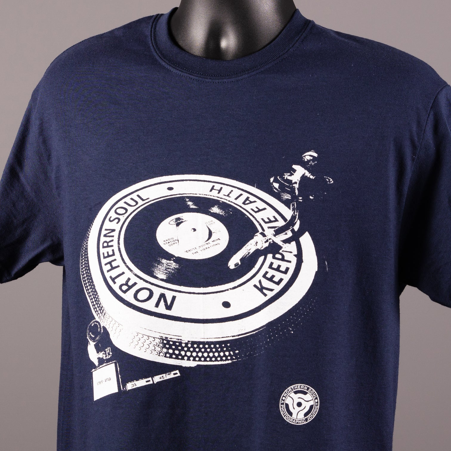 Northern Soul - Keep The Faith Turntable T Shirt