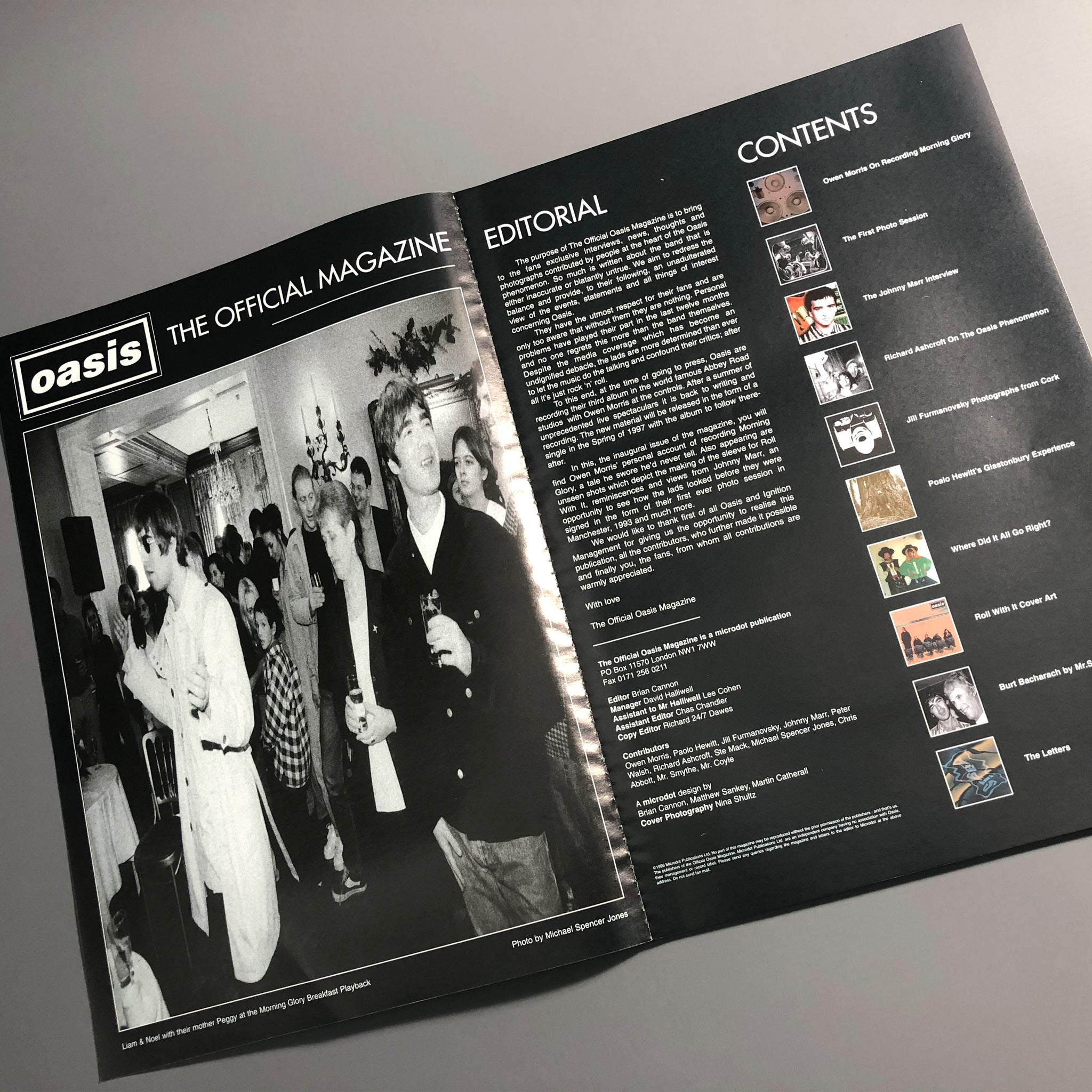 Oasis - The Official Magazine. 90's Original