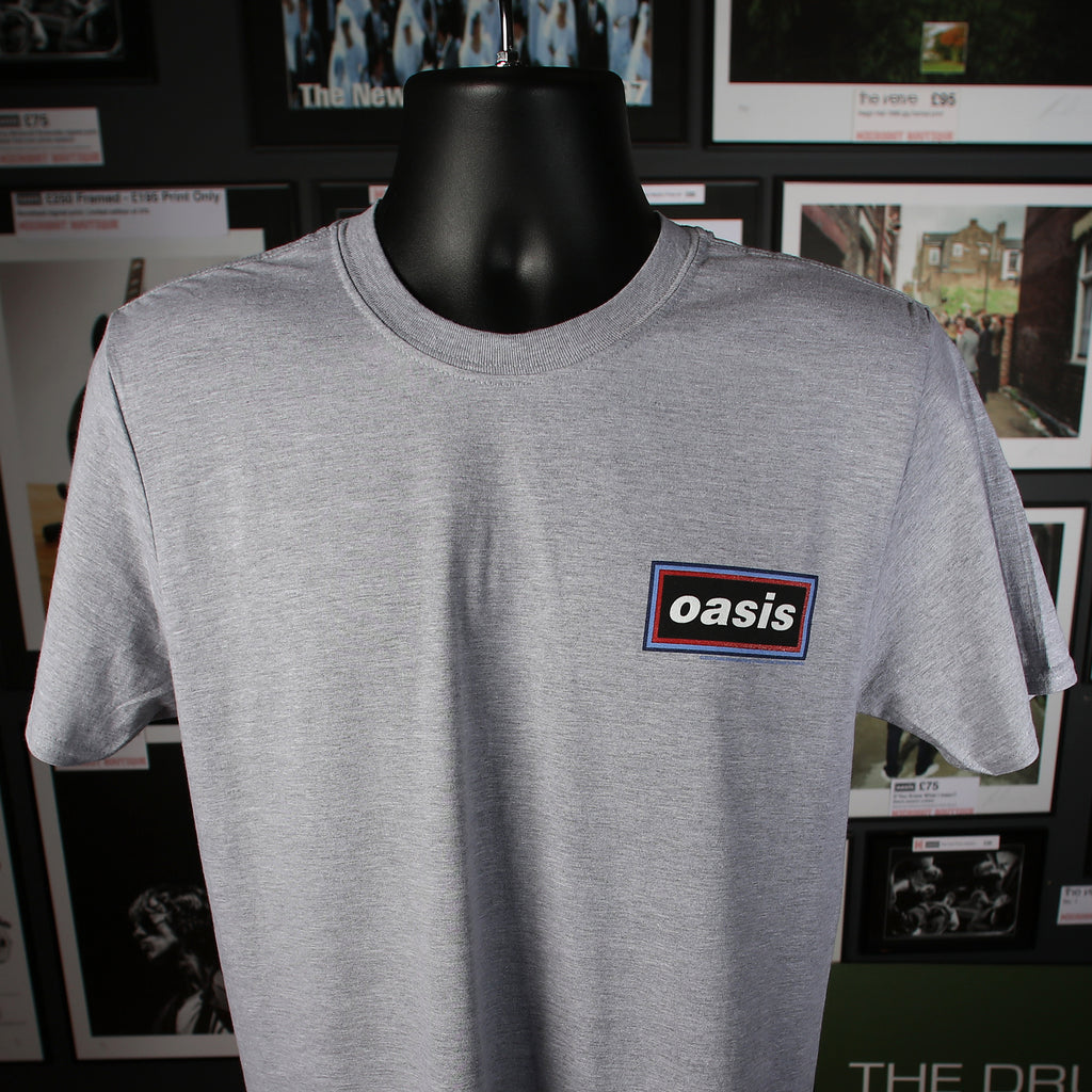Oasis - Classic Logo, New Application T-Shirt