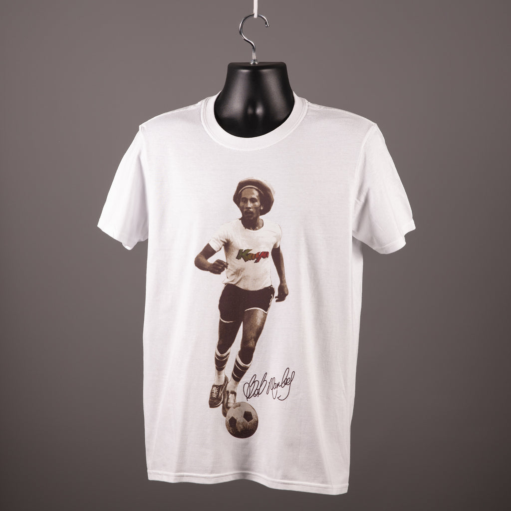 Bob Marley - Football T Shirt