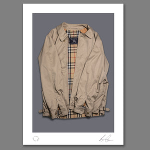 Oasis - Morning Glory - The Burberry Jacket Print