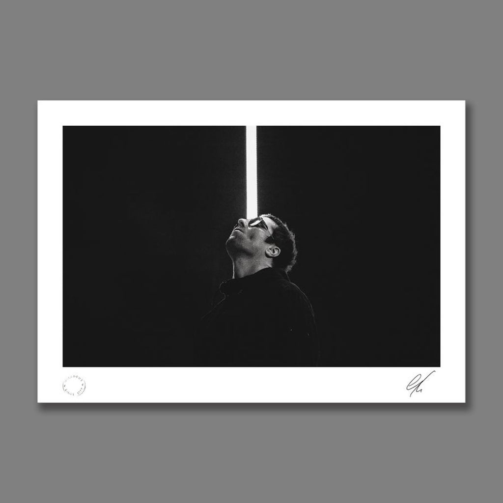 Liam Gallagher live at Lancashire County Cricket Club 2018 Print