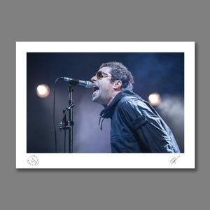 Liam Gallagher live at Lancashire County Cricket Club 2018 Print 2