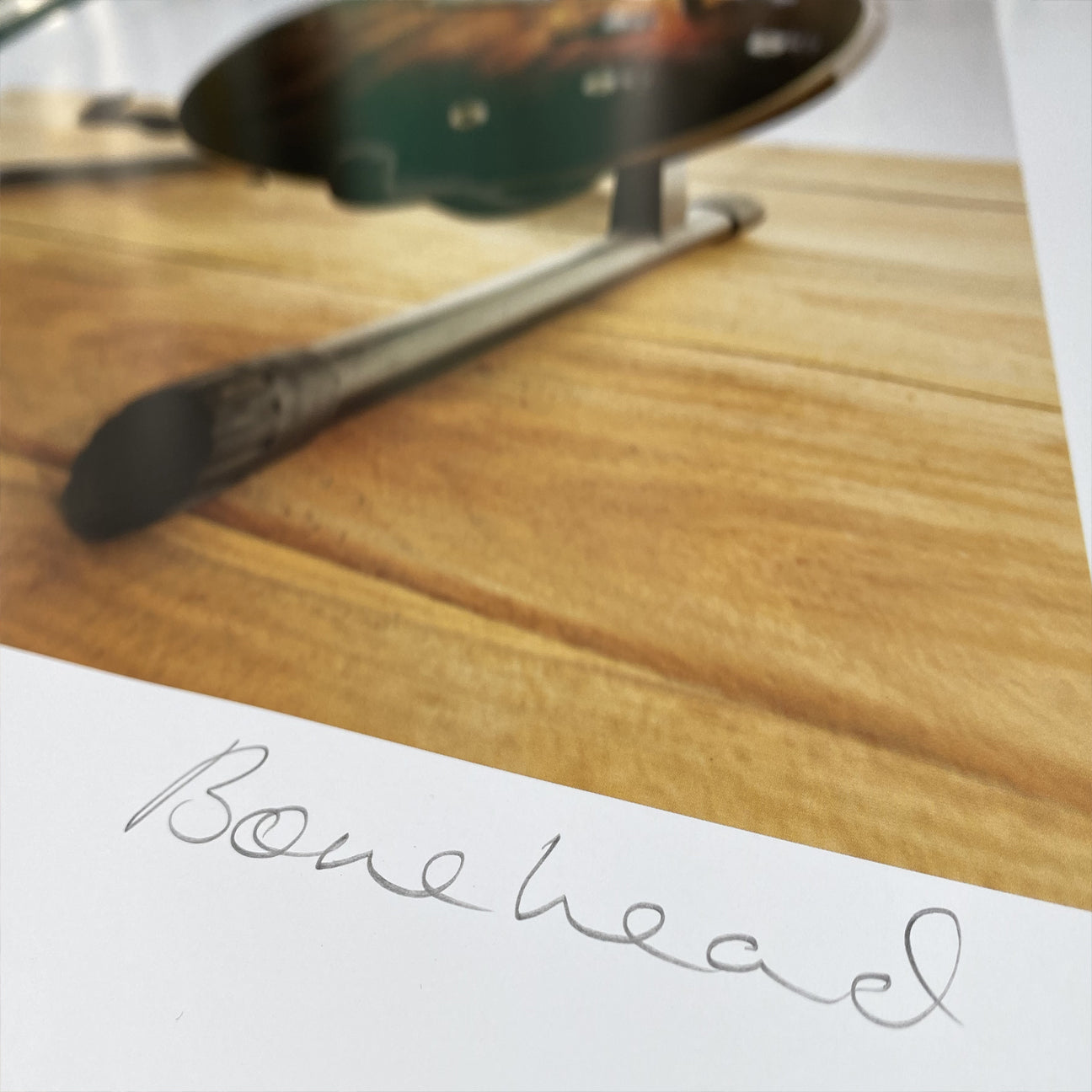 Bonehead Signed Limited Edition Print