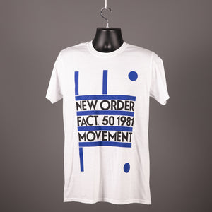 New Order - Fact 50 Movement T Shirt