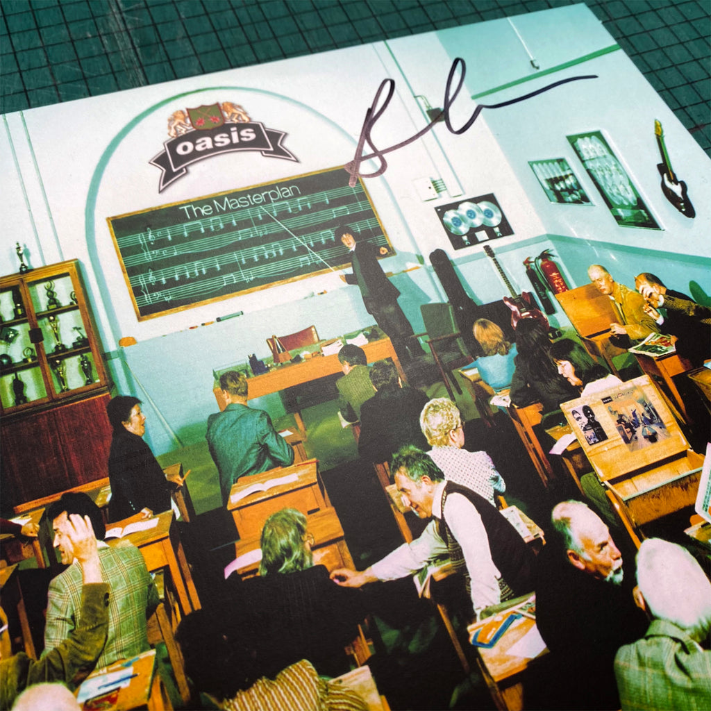 Oasis - The Masterplan - Unplayed Vinyl - Signed
