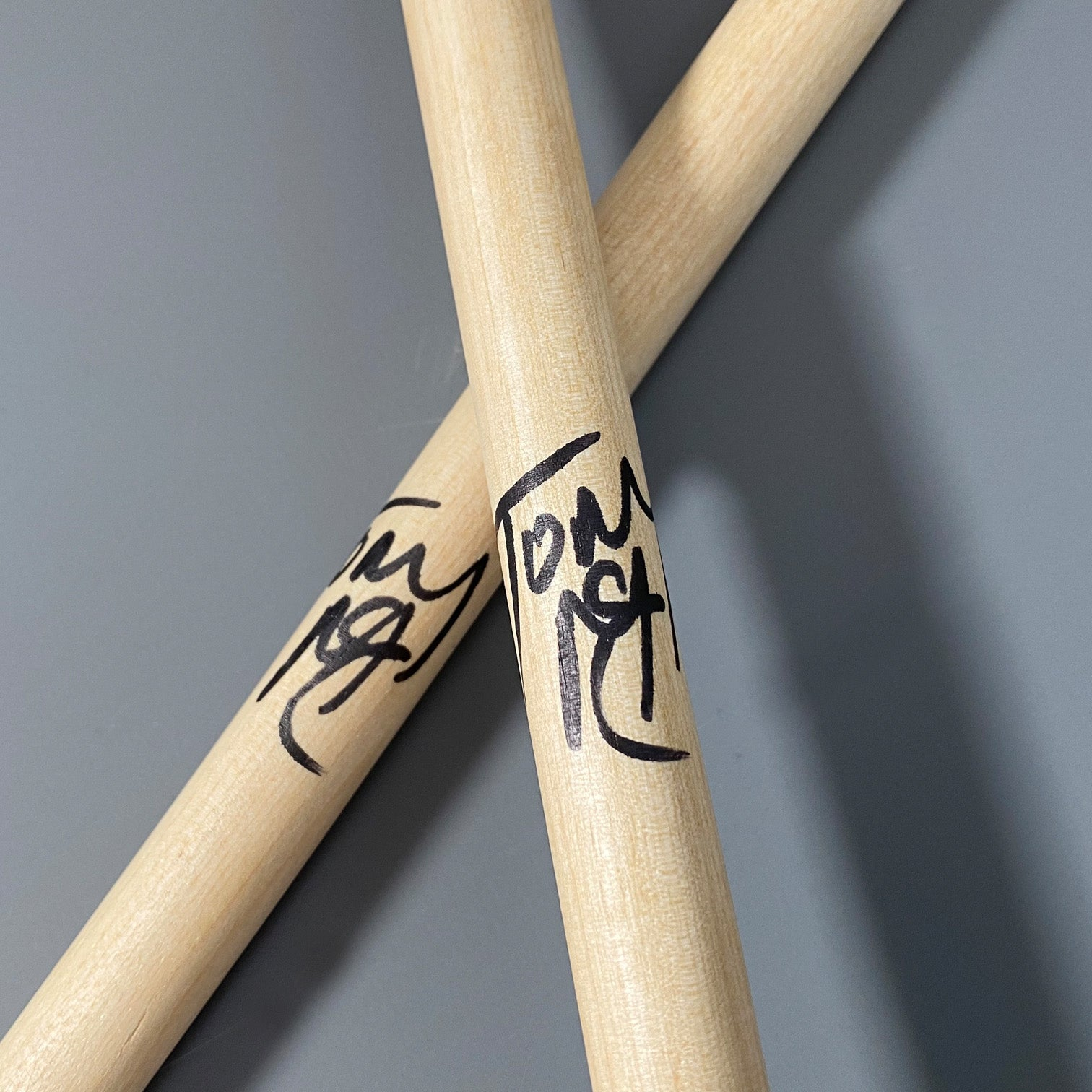 Tony McCarroll - Personally signed drumsticks