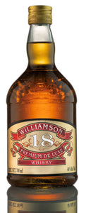 Williamson 18  - Whisky en botella 700 ml | Paquete de 3 botellas