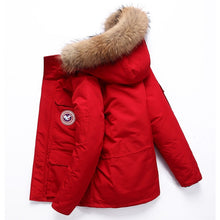 Load image into Gallery viewer, Winter Feather Men's down Jacket Short Canada down Jacket Outdoor Workwear Thick Warm Men's Winter Jacket