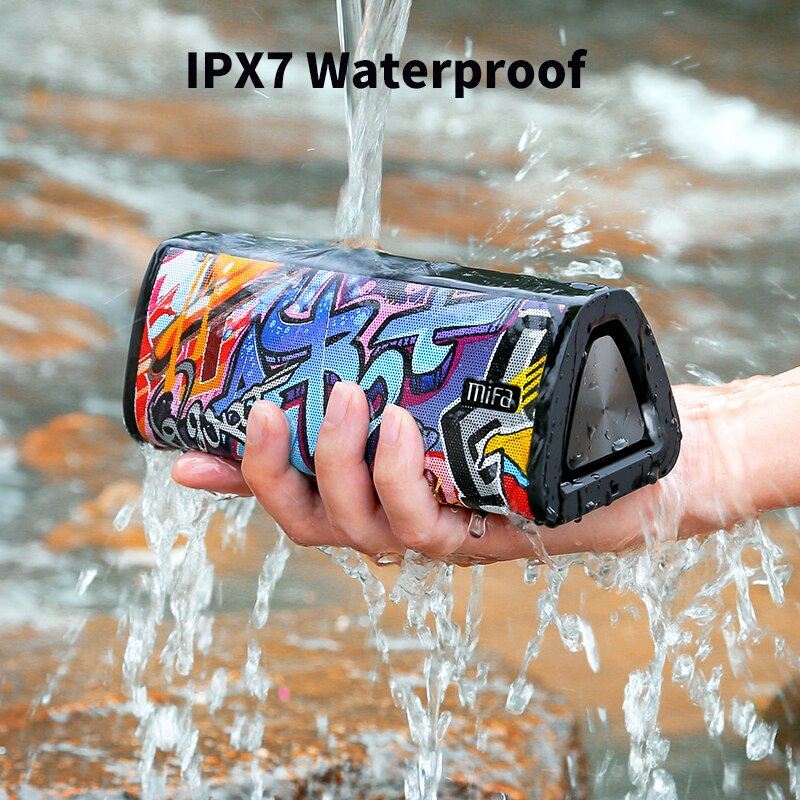 mifa A10+ Portable bluetooth speaker 360° Stereo Sound 20W  IPX7 waterproof wireless bluetooth 5.0 speaker 24-Hour Play time