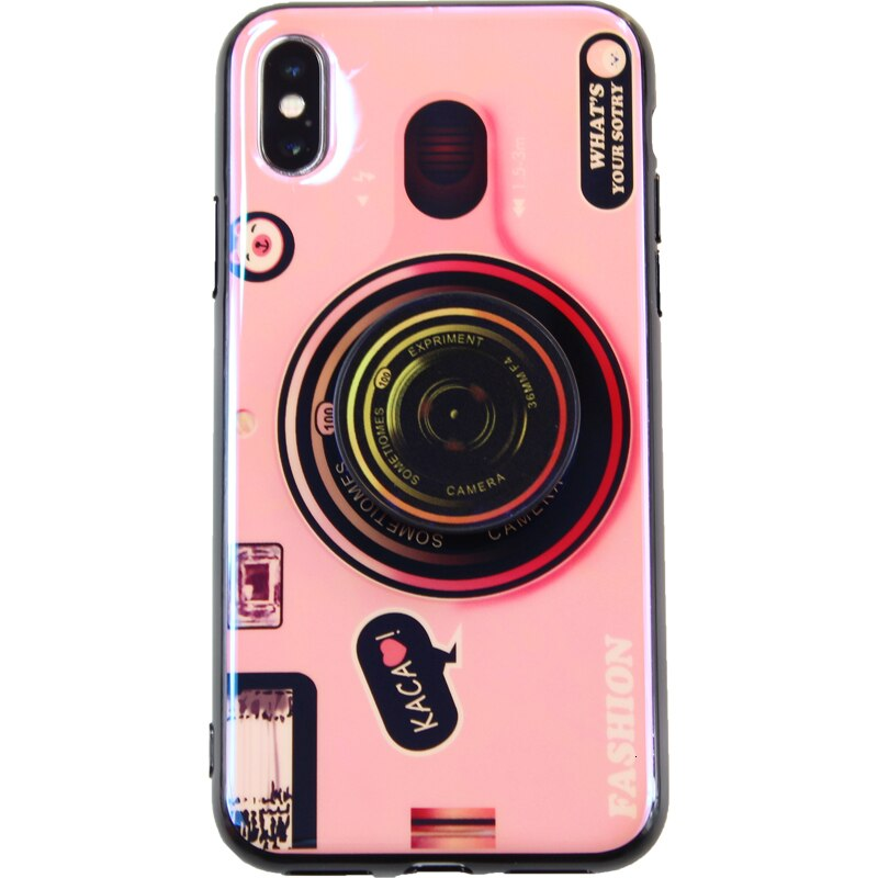 3D Retro Camera lanyard Case For iphone 12 11 Pro X XR XS MAX 6s 7 8 Plus for Samsung S20 S10 Fold Holder Silicone Cover Note 20