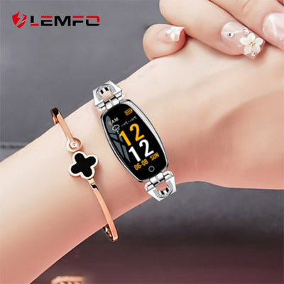 LEMFO H8 Smart Watch Women 2019 Waterproof Heart Rate Monitoring Bluetooth For Android IOS Fitness Bracelet Smartwatch - Panda Play Store