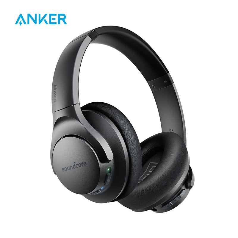 Anker Soundcore Life Q20 Hybrid Active Noise Cancelling Headphones, Wireless Over Ear Bluetooth Headphones