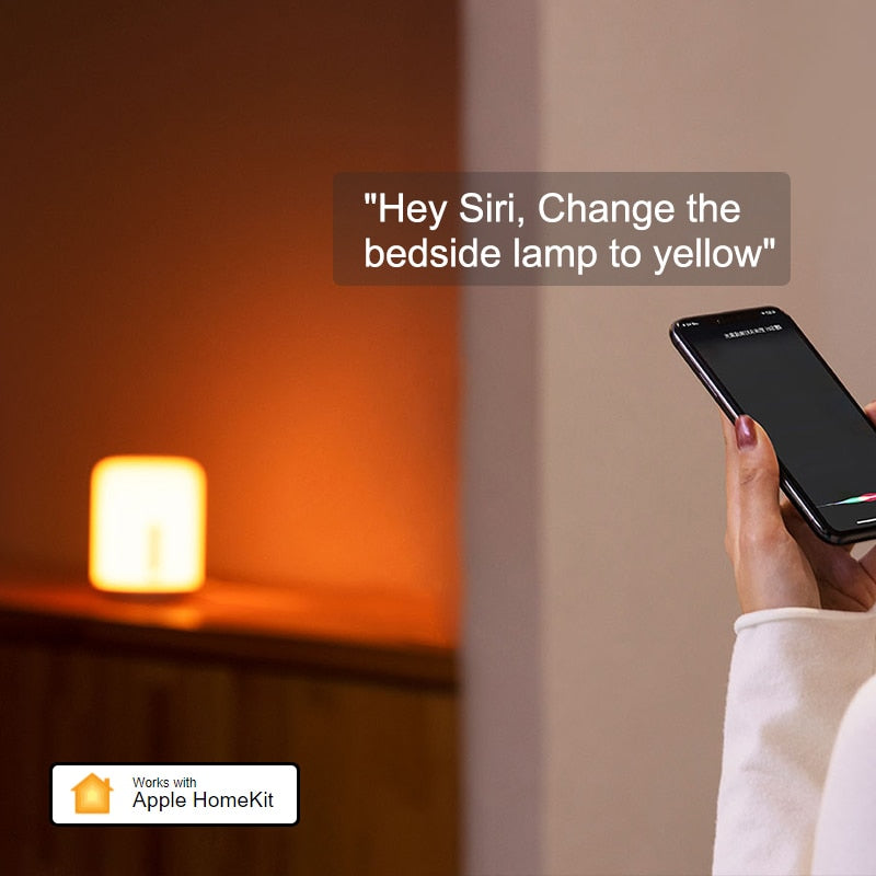 Xiaomi Bedside Lamp 2 Smart Table LED Light Mi home APP Wireless Control MIJIA Bedroom Desk Night Light for Apple HomeKit Siri - Panda Play Store