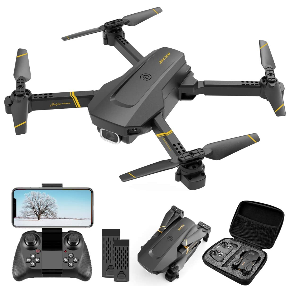 4DRC V4S 4K DUAL CAMERA FOLDING PORTABLE QUADCOPTER DRONE