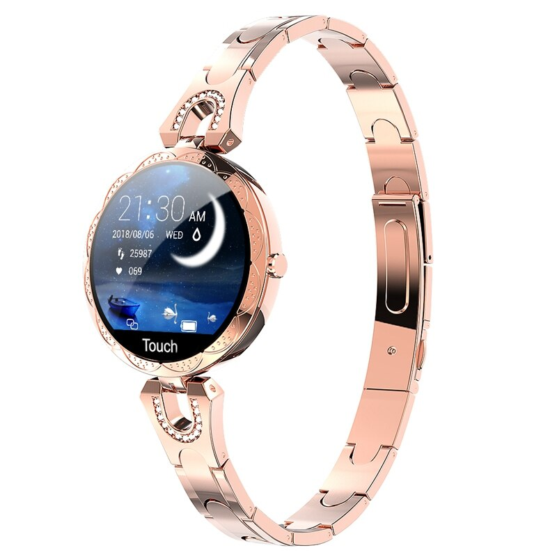 COBRAFLY AK15 Smart Watch Women Bracelet Heart Rate Monitoring IP67 Waterproof Fitness Tracker Ladies Watches for Xiaomi Iphone