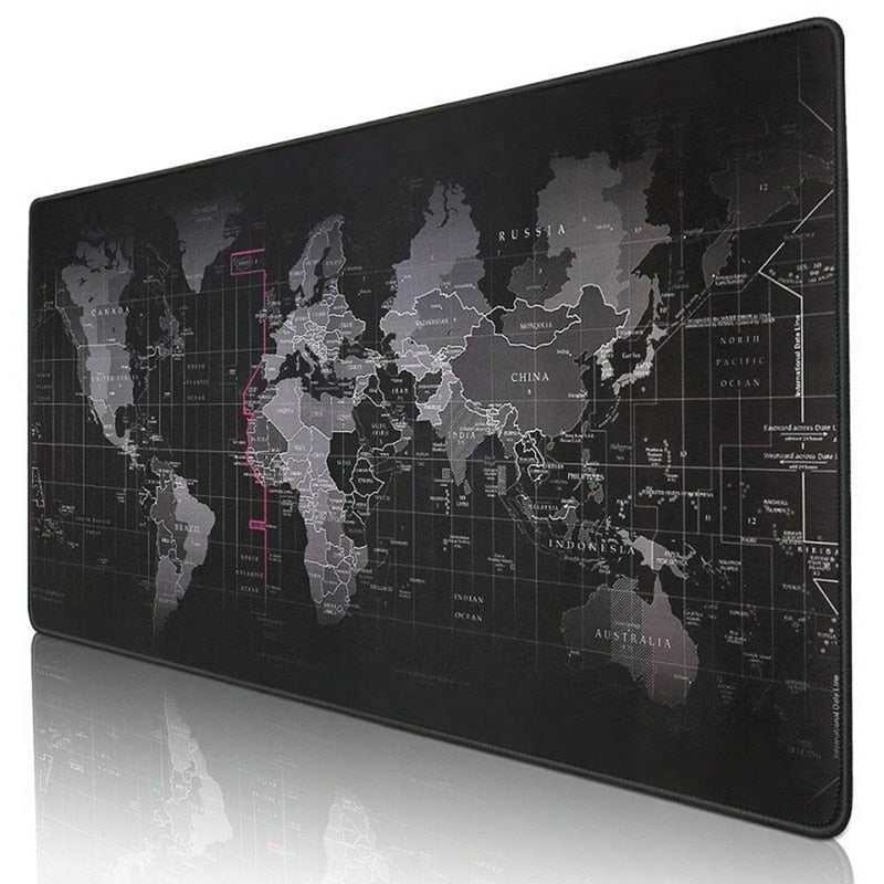 LARGE GRAFFITI WORLD MAP GAMING MOUSE PAD