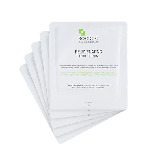 SOCIETE Rejuvenating Peptide Gel Mask (5 Masks)