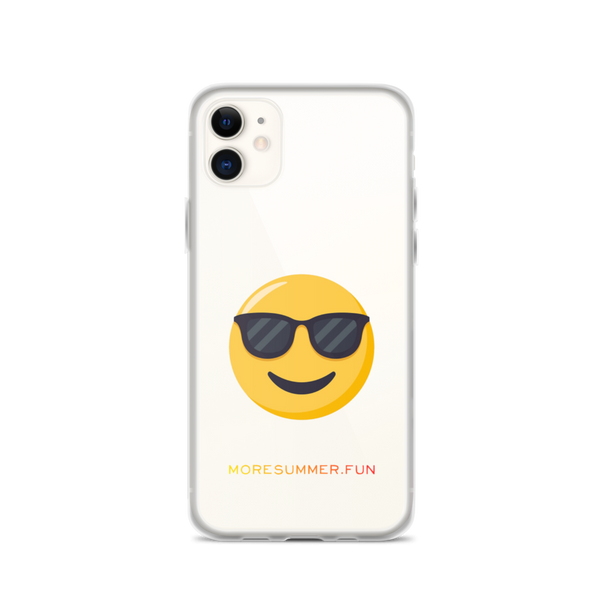 Sunnies Emoji iPhone Case