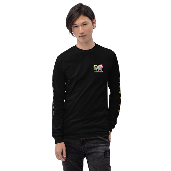 MSF Logo Unisex Long Sleeve WITH FRUIT SLEEVE DESIGN