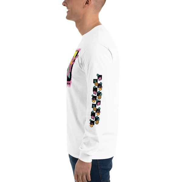 I Want My MSF Long Sleeve Shirt With Fruit Sleeve Design
