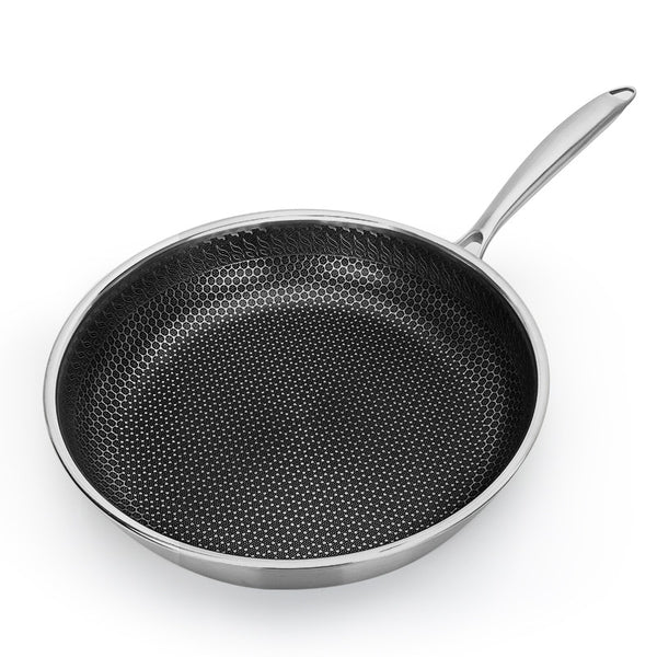 Nonstick Stainless Steel Skillet