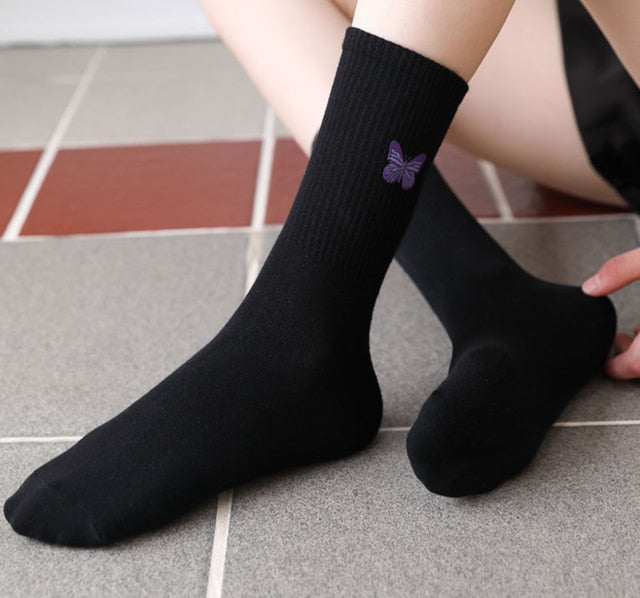 Women's Harajuku Crew Socks